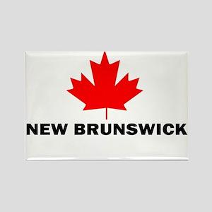 New Brunswick Rectangle Magnet