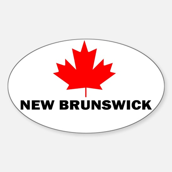 New Brunswick Oval Decal