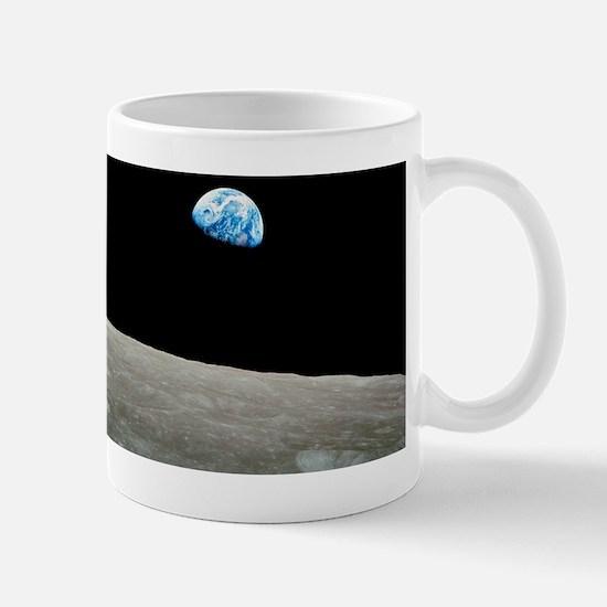 Earthrise over Moon, Apollo 8 Mug