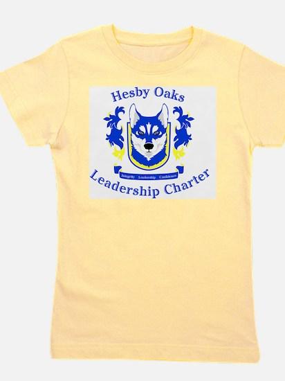Hesby Oaks Formal Logo Girl's Tee