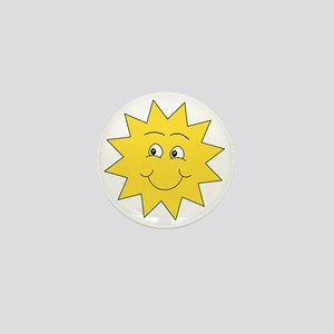 Yellow Happy Sunshine. Mini Button