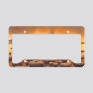 Early stromatolites, artwork License Plate Holder