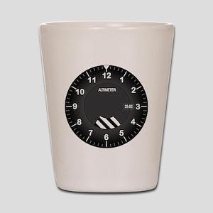 Altimeter Wall Clock Shot Glass