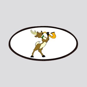 Reindeer And Saxophone Patch