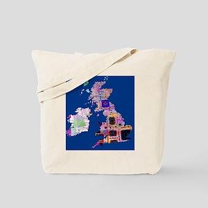 Electronic UK Tote Bag