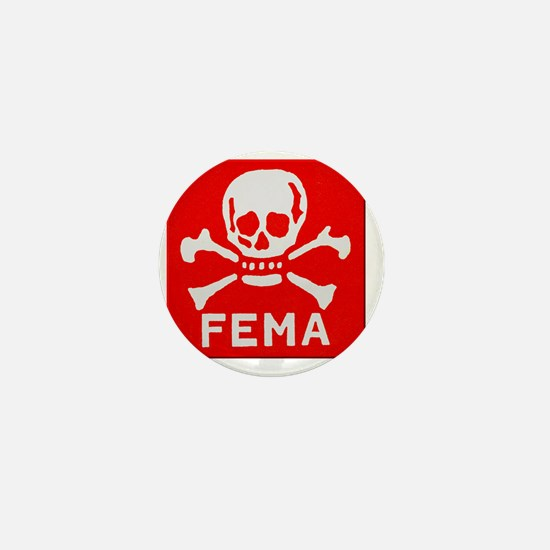FEMA Mini Button
