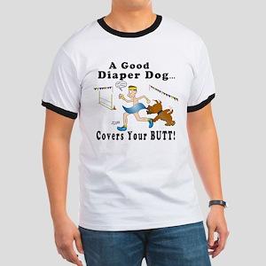 Diaper Dog Agility Ringer T
