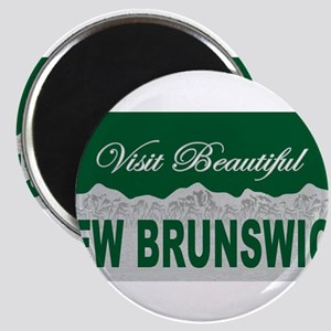 Visit Beautiful New Brunswick Magnet