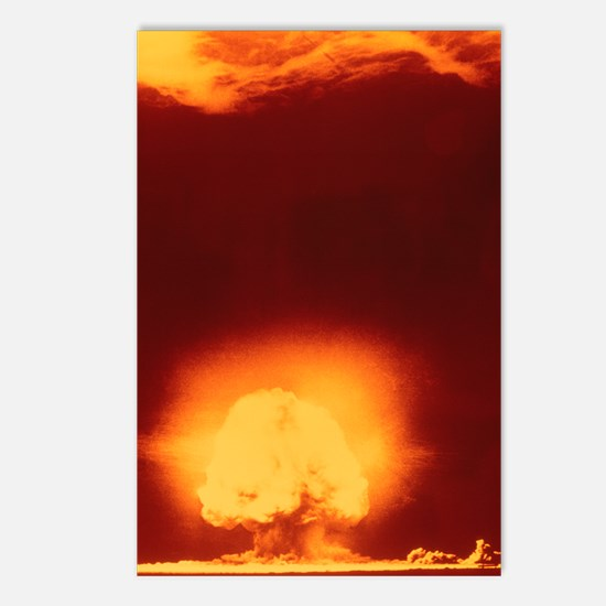First atomic explosion at Postcards (Package of 8)