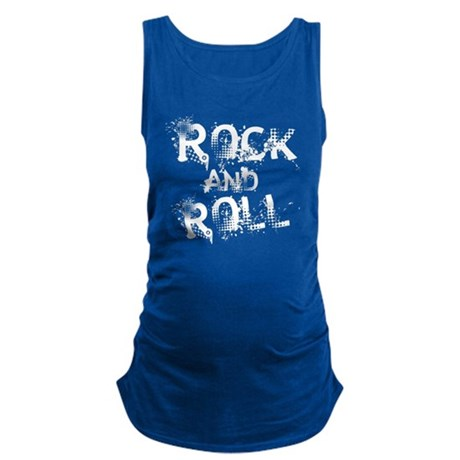 Rock And Roll Maternity Tank Top