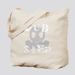 Dubstep Grey Gas Mask Tote Bag