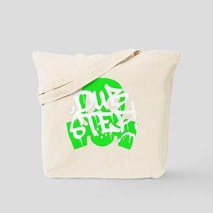 Dubstep Green Gas Mask Tote Bag
