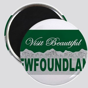 Visit Beautiful Newfoundland Magnet