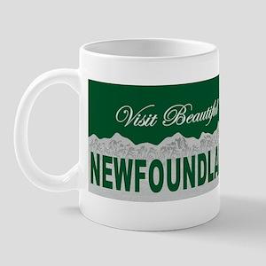 Visit Beautiful Newfoundland Mug
