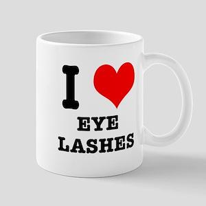 I Heart (Love) Eyelashes Mug