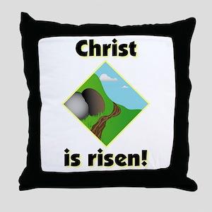 Christ is Risen Throw Pillow