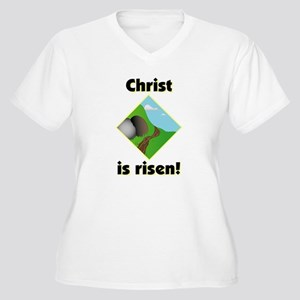 cdfba4ad5215 Jesus Risen Women s Plus Size T-Shirts - CafePress