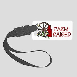 Farm Raised Small Luggage Tag