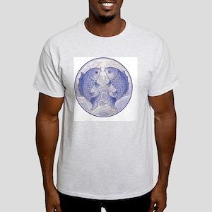 Asian Icthus Queen Sized Light T-Shirt
