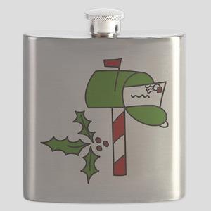 Christmas Mailbox Flask