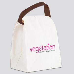 Vegetarian - Compassion Over Cruelty Canvas Lunch