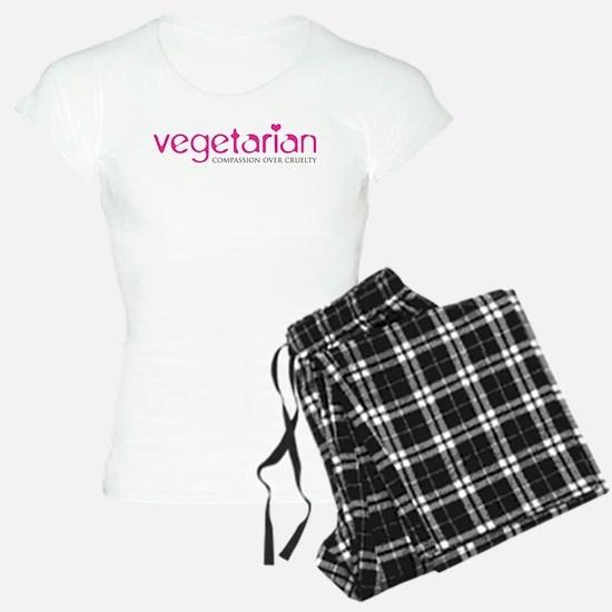 Vegetarian - Compassion Over Cruelty Pajamas