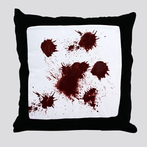 Um...its nothing back Throw Pillow