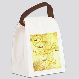 This is the Day vintage Canvas Lunch Bag