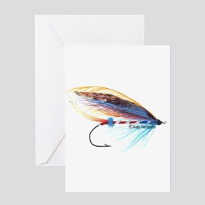 Atlantic Jock Scott Fly Greeting Cards