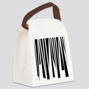Funky Stripes copy Canvas Lunch Bag