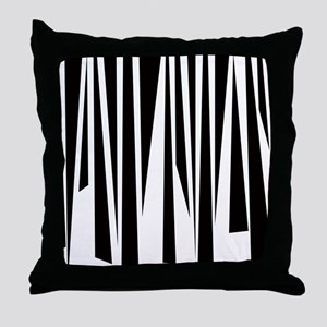 Funky Stripes copy Throw Pillow