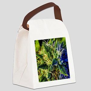 glistening trichomes Canvas Lunch Bag