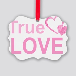 True Love Picture Ornament
