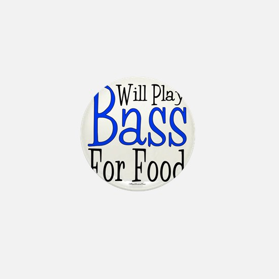Will Play Bass Mini Button