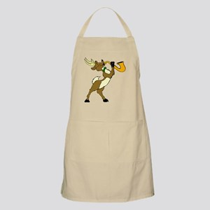 Reindeer And Saxophone Light Apron