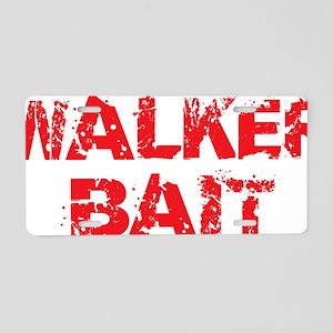 Walker Bait Aluminum License Plate