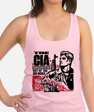 The CIA Racerback Tank Top