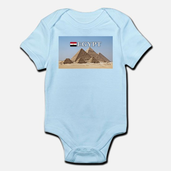 Giza Pyramids in Egypt Body Suit