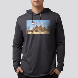Giza Pyramids in Egypt Long Sleeve T-Shirt