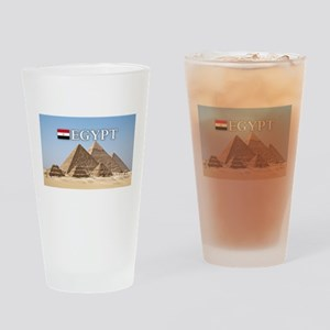 et-pic-pyramids Drinking Glass