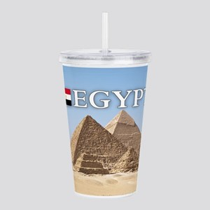 et-pic-pyramids Acrylic Double-wall Tumbler