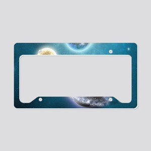 nss_Rectangular Canvas Pillow License Plate Holder
