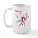 Graphic Attitude Large Mug