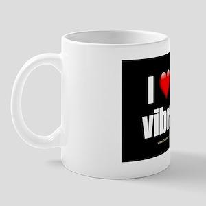 I Love My Vibrator wallpeel Mug