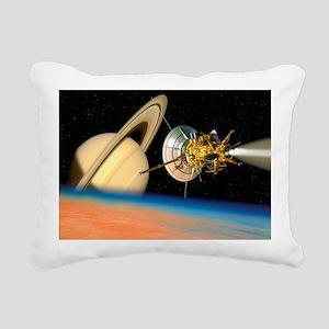Computer artwork of Cass Rectangular Canvas Pillow