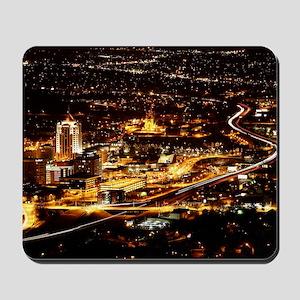 Panorama view of Roanoke Virginia Mousepad