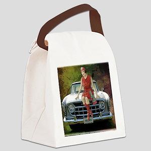 1957 Rambler Automobile Canvas Lunch Bag