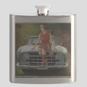 1957 Rambler Automobile Flask
