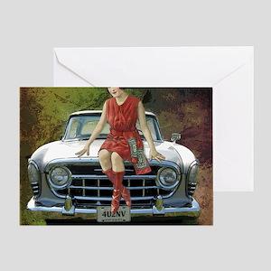 1957 Rambler Automobile Greeting Card