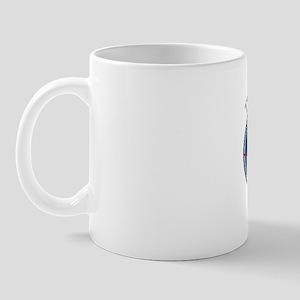 TSDR Transparant Blue Logo Mug